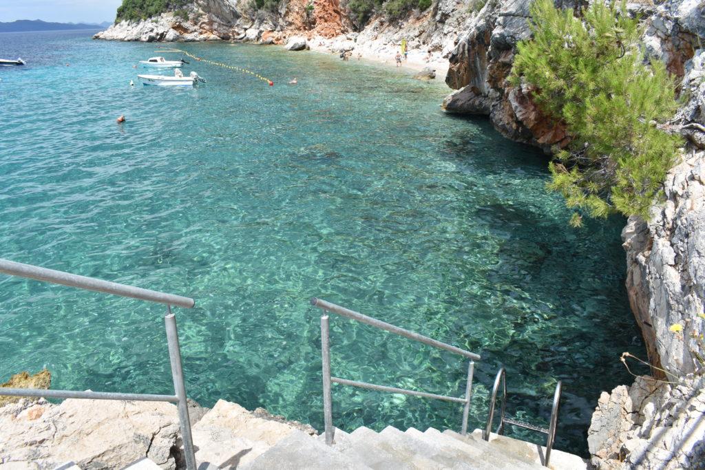 Orasac beach