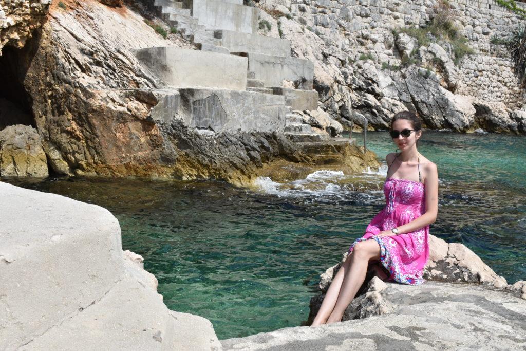 Trsteno beach