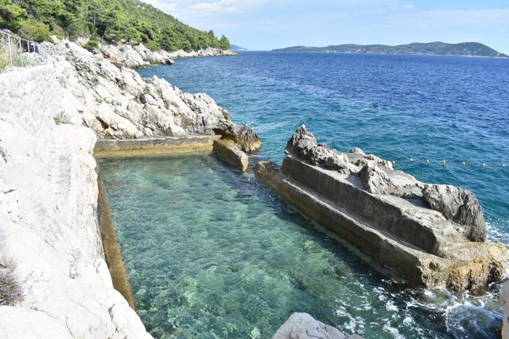 Trsteno natural pool