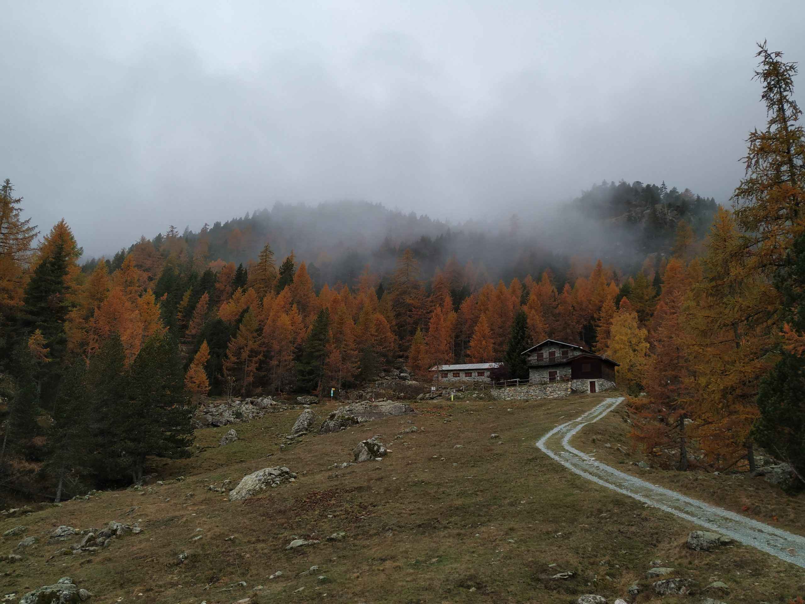 One Weekend in Aosta Valley in November